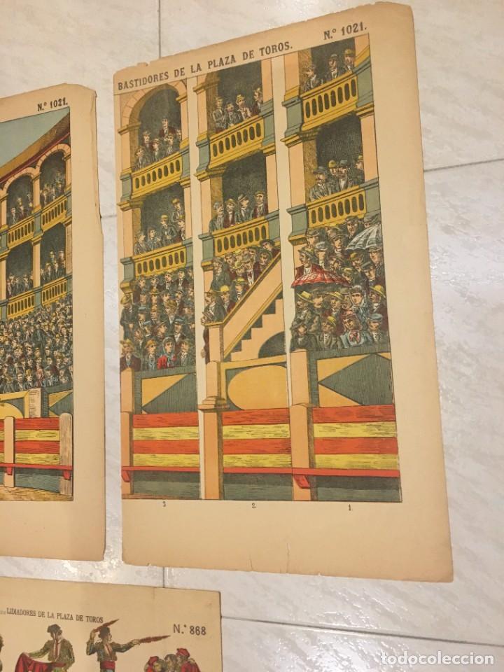 Coleccionismo Recortables: ESTAMPERÍA PALUZIE, RECORTABLES TEMAS TAURINOS. - Foto 4 - 227550120