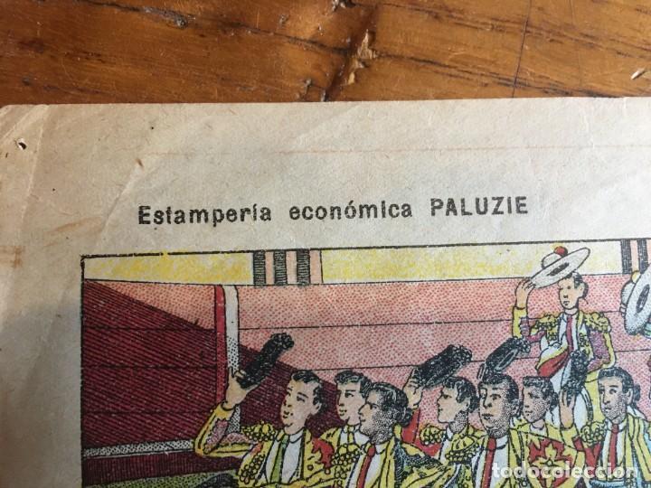 Coleccionismo Recortables: ESTAMPERÍA PALUZIE, RECORTABLES TEMAS TAURINOS. - Foto 7 - 227550120