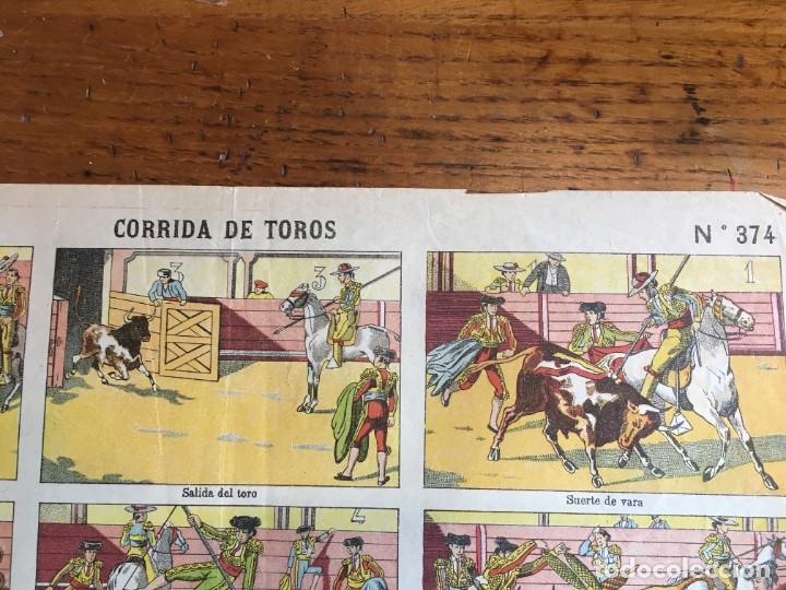 Coleccionismo Recortables: ESTAMPERÍA PALUZIE, RECORTABLES TEMAS TAURINOS. - Foto 8 - 227550120