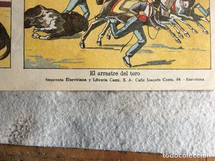 Coleccionismo Recortables: ESTAMPERÍA PALUZIE, RECORTABLES TEMAS TAURINOS. - Foto 9 - 227550120