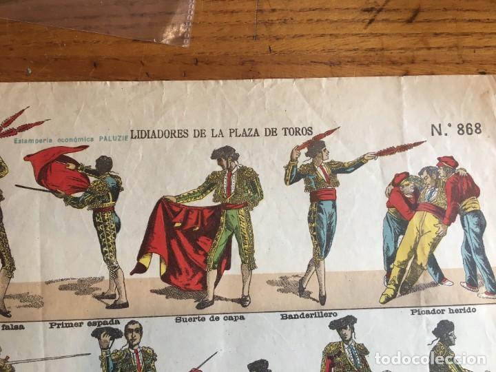 Coleccionismo Recortables: ESTAMPERÍA PALUZIE, RECORTABLES TEMAS TAURINOS. - Foto 11 - 227550120