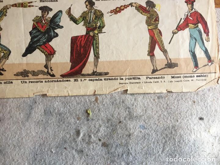 Coleccionismo Recortables: ESTAMPERÍA PALUZIE, RECORTABLES TEMAS TAURINOS. - Foto 12 - 227550120