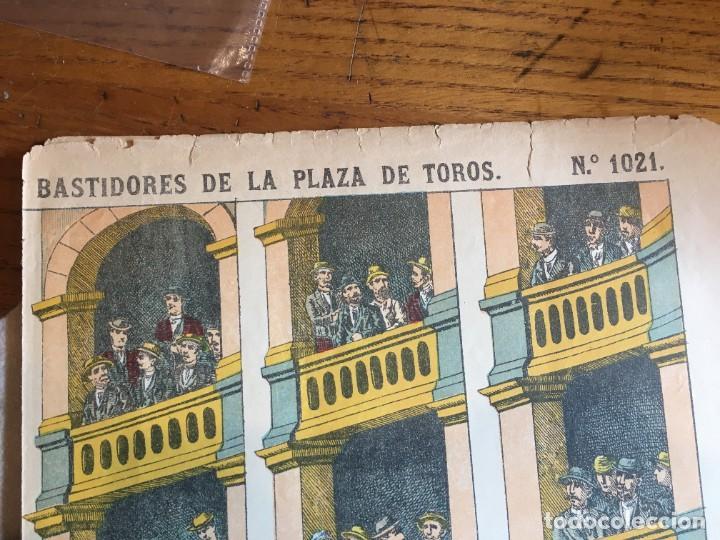 Coleccionismo Recortables: ESTAMPERÍA PALUZIE, RECORTABLES TEMAS TAURINOS. - Foto 13 - 227550120