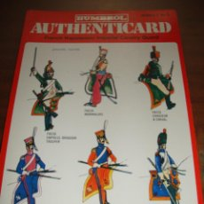 Coleccionismo Recortables: FICHA HUMBROL AUTHENTICARD Nº 9. Lote 232198540