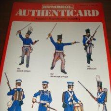 Coleccionismo Recortables: FICHA HUMBROL AUTHENTICARD Nº 10. Lote 232198830