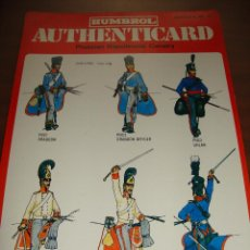 Coleccionismo Recortables: FICHA HUMBROL AUTHENTICARD Nº 11. Lote 232199100