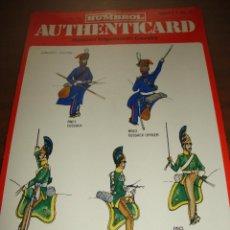 Coleccionismo Recortables: FICHA HUMBROL AUTHENTICARD Nº 13. Lote 232199445