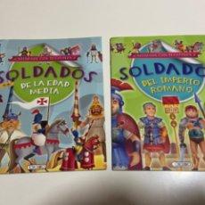 Coleccionismo Recortables: CUENTOS RECORTABLES SOLDADOS SIN ESTRENAR. Lote 233260775