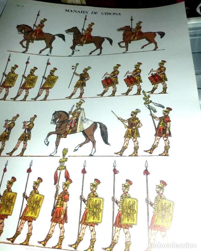 MANAIES DE GIRONA * DALMAU CARLES PLÁ 1980 - Nº 3 (Coleccionismo - Recortables - Soldados)