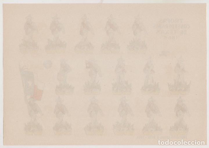 Coleccionismo Recortables: TROPAS CONFEDERADAS DE TEXAS DE 1864 - BRUGUERA - AÑO 1961 - PERFECTO ESTADO - Foto 2 - 246869105