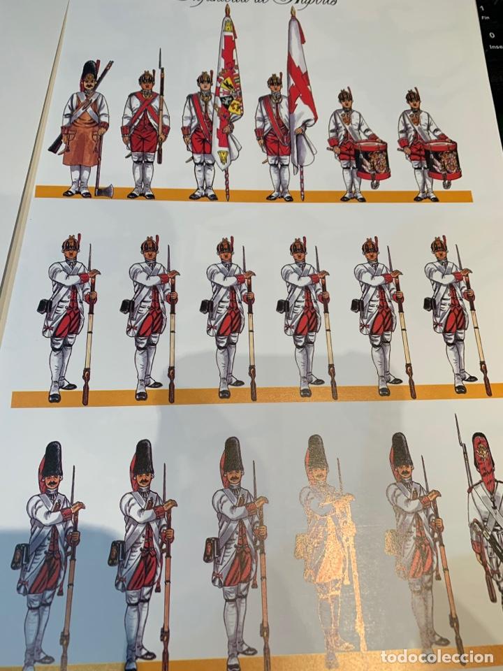 Coleccionismo Recortables: Carpeta El Ejército de Carlos III , 8 láminas Recortables - Dibujos Dionisio A. Cuero . Nuevo año 88 - Foto 13 - 252420335