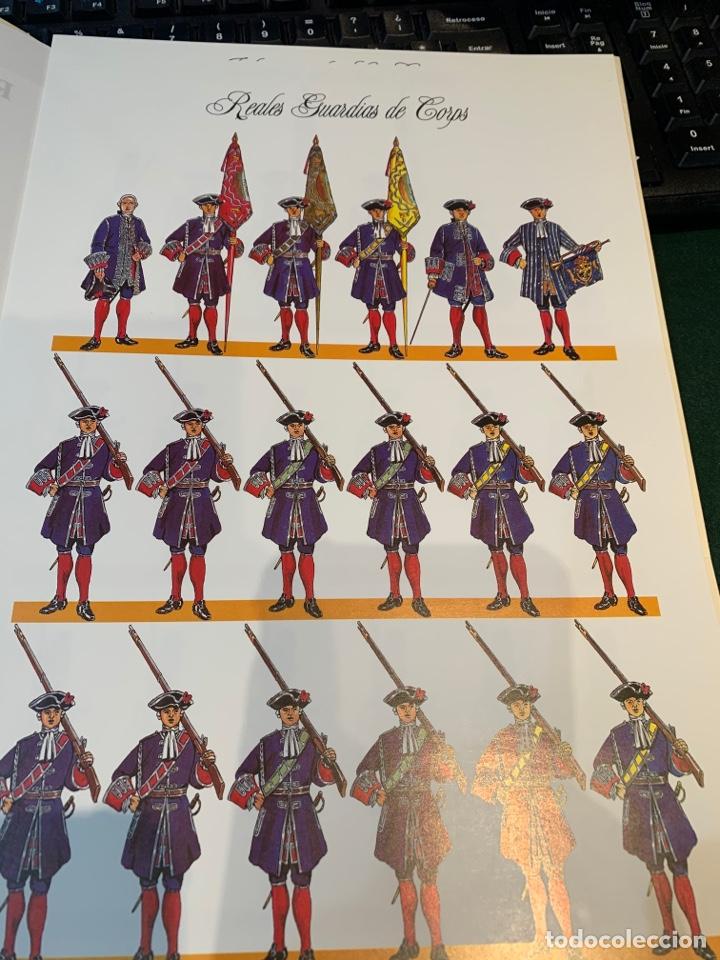 Coleccionismo Recortables: Carpeta El Ejército de Carlos III , 8 láminas Recortables - Dibujos Dionisio A. Cuero . Nuevo año 88 - Foto 14 - 252420335