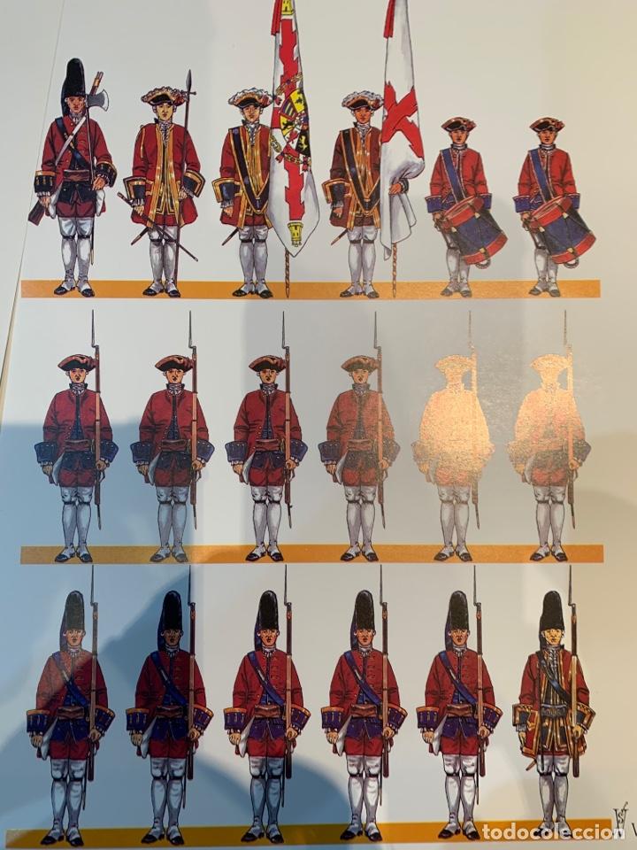 Coleccionismo Recortables: Carpeta El Ejército de Carlos III , 8 láminas Recortables - Dibujos Dionisio A. Cuero . Nuevo año 88 - Foto 8 - 252420335
