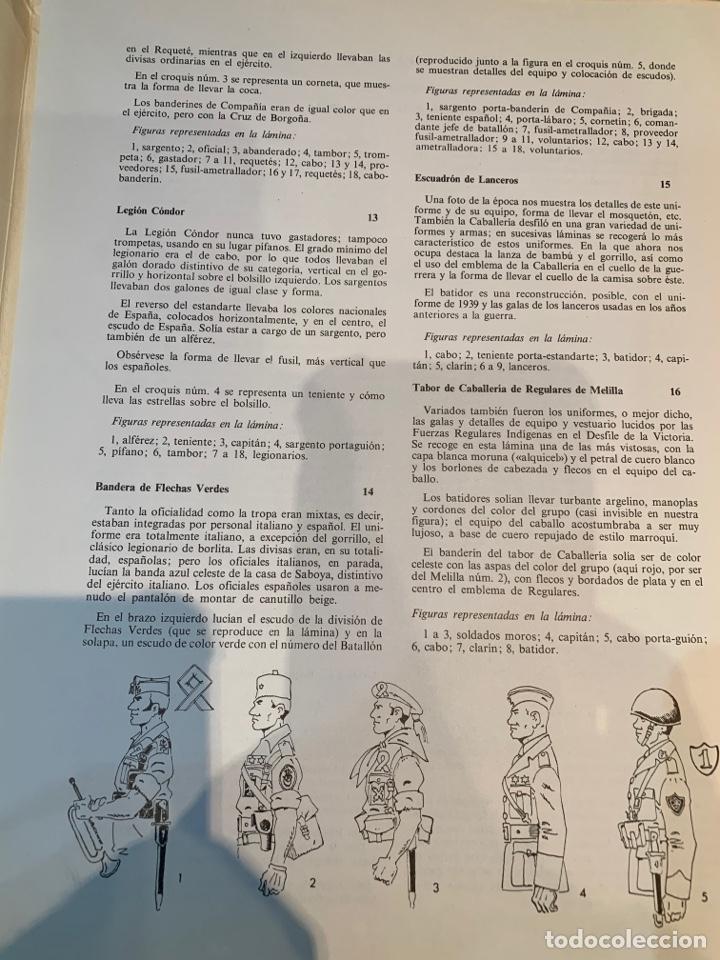 Coleccionismo Recortables: Carpetas (5) completas Primera Serie El Ejército en Parada n. 1,2,3,4 y 5 - 40 láminas ver fotos - Foto 7 - 252431470