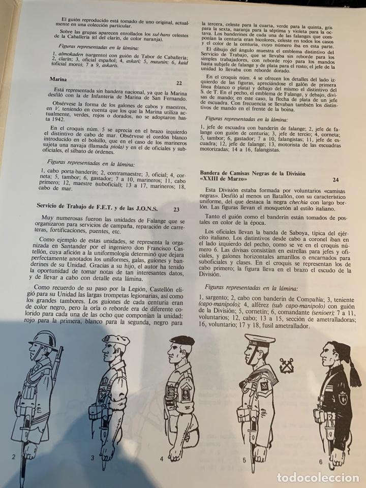 Coleccionismo Recortables: Carpetas (5) completas Primera Serie El Ejército en Parada n. 1,2,3,4 y 5 - 40 láminas ver fotos - Foto 11 - 252431470