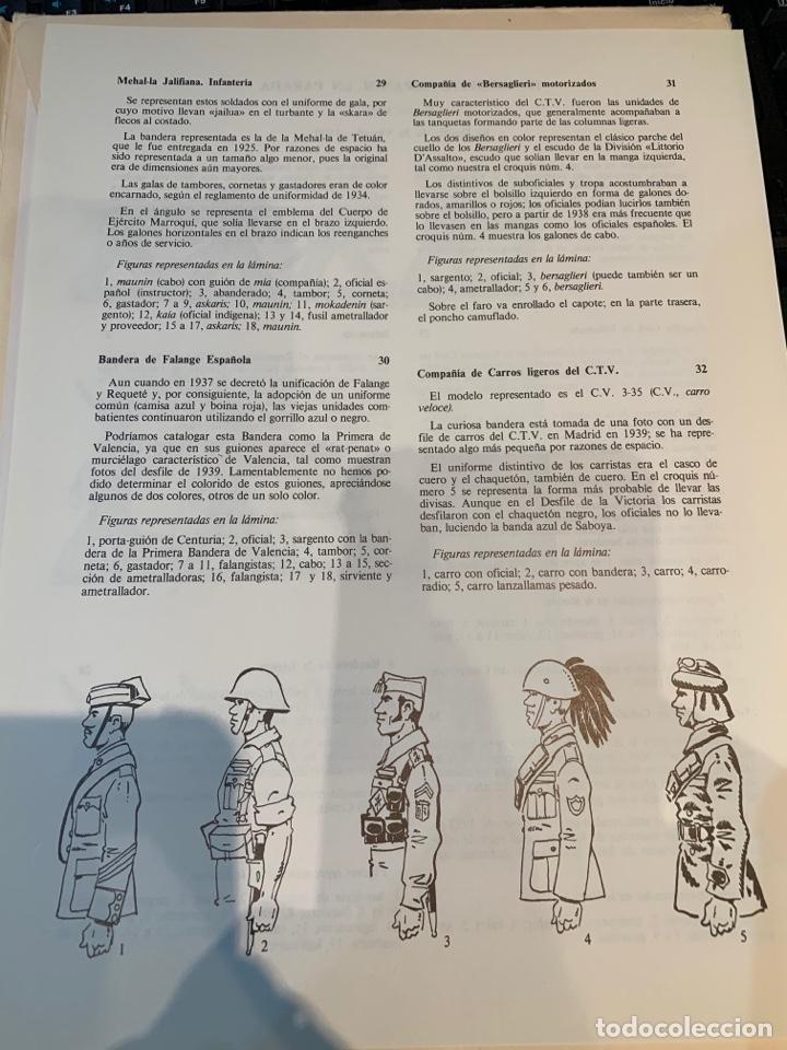 Coleccionismo Recortables: Carpetas (5) completas Primera Serie El Ejército en Parada n. 1,2,3,4 y 5 - 40 láminas ver fotos - Foto 15 - 252431470
