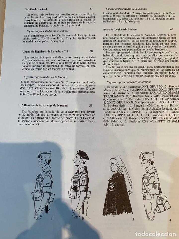 Coleccionismo Recortables: Carpetas (5) completas Primera Serie El Ejército en Parada n. 1,2,3,4 y 5 - 40 láminas ver fotos - Foto 19 - 252431470