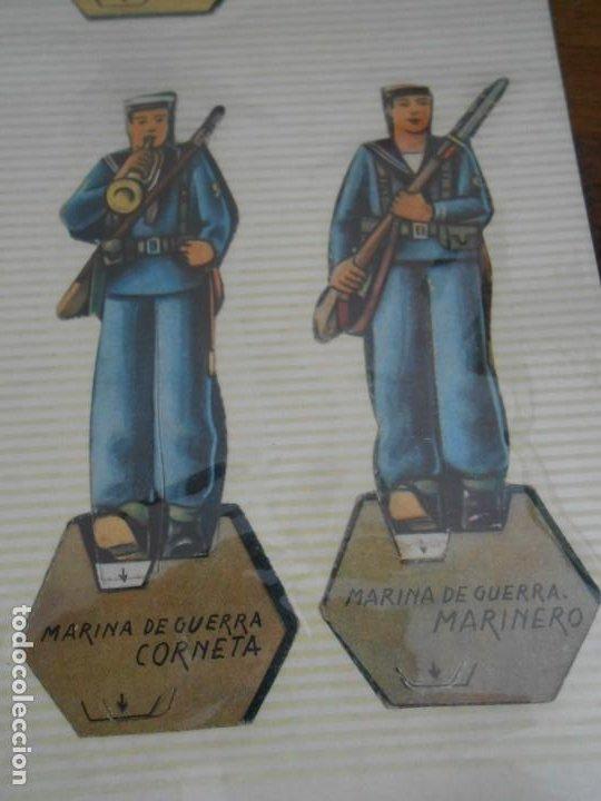 Coleccionismo Recortables: LOTE 13 RECORTABLES ORIGINAL GUERRA CIVIL ESPAÑOLA EJERCITO POPULAR CAPITAN CORBETA CABO MARINO - Foto 3 - 252494290