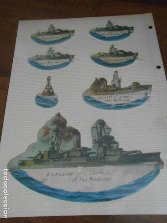 Coleccionismo Recortables: LOTE 13 RECORTABLES ORIGINAL GUERRA CIVIL ESPAÑOLA EJERCITO POPULAR CAPITAN CORBETA CABO MARINO - Foto 5 - 252494290