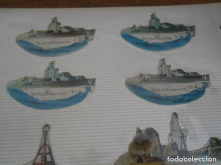 Coleccionismo Recortables: LOTE 13 RECORTABLES ORIGINAL GUERRA CIVIL ESPAÑOLA EJERCITO POPULAR CAPITAN CORBETA CABO MARINO - Foto 6 - 252494290