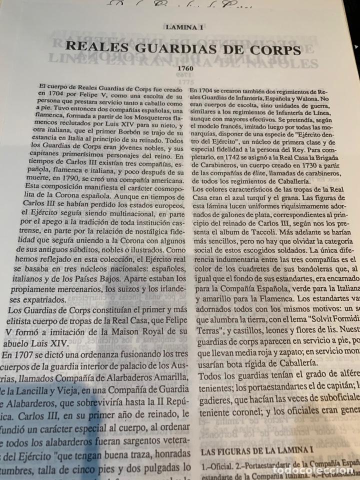 Coleccionismo Recortables: Carpeta El Ejército de Carlos III , 8 láminas Recortables - Dibujos Dionisio A. Cuero . Nuevo año 88 - Foto 2 - 252420335