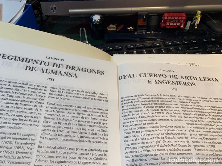 Coleccionismo Recortables: Carpeta El Ejército de Carlos III , 8 láminas Recortables - Dibujos Dionisio A. Cuero . Nuevo año 88 - Foto 5 - 252420335