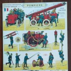 Coleccionismo Recortables: RECORTABLES - SOLDATS A DECOUPER EDITIONS H BOUQUET PARIS - PRO PATRIA - RECORTABLE SOLDADOS PAPEL. Lote 253011545