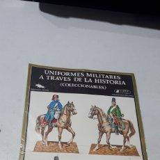 Coleccionismo Recortables: UNIFORMES MILITARES A TRAVES DE LA HISTORIA EDICIONES MINOS SERIE A-4 CLIPER PLAZA & JANES. Lote 254985715
