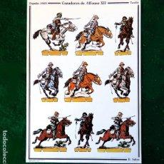 Coleccionismo Recortables: RECORTABLE - SOLDADOS: CAZADORES DE ALFONSO XIII - CUARTEL GENERAL DEL EJERCITO - D. SALAS. Lote 259332500