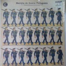 Coleccionismo Recortables: RECPRTABLE PORTUGUES Nº 3 MARINHA DE GUERRA PORTUGUEZAN 40X29 CM. Lote 260827910