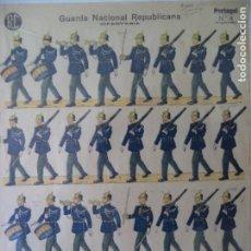 Coleccionismo Recortables: RECORTABLE PORTUGUES Nº 4 Y ULTIMO GUARDA NACIONAL REPUBLICANA 40X 29 CM. Lote 260828215