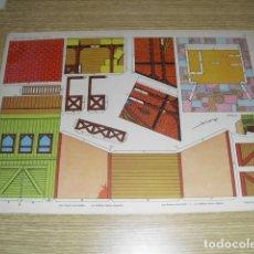 """Coleccionismo Recortables: RECORTABLE """"TORAY OESTE - ESTABLO - Nº 87. Lote 264848089"""