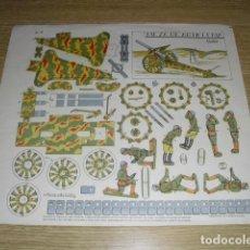 Coleccionismo Recortables: RECORTABLE PIEZA DE ARTILLERIA A-3 - A.ROMERO DE CIDON.. Lote 264850474