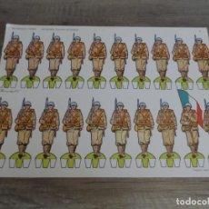 Coleccionismo Recortables: RECORTABLES TORAY INFANTERÍA ITALIANA EN DESFILE. Lote 276126653