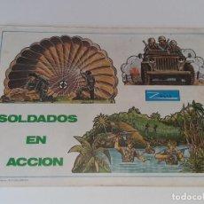 Coleccionismo Recortables: ANTIGUO LIBRO ALBUM RECORTABLES SOLDADOS DEL MUNDO CON 41 LAMINAS EDITORIAL ZULIA AÑO 1981. Lote 278410673