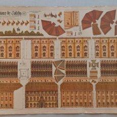 Coleccionismo Recortables: EL ALCÁZAR DE TOLEDO CONSTRUCCIÓNES GALVEZ. Lote 288676923