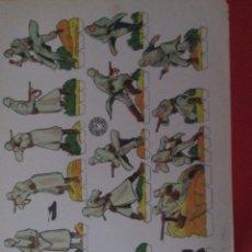 Coleccionismo Recortables: GRANADEROS BLINDADOS ALEMANES. Lote 289542093