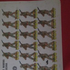 Coleccionismo Recortables: INFANTERIA DE MARINA NORTEAMERICANA. Lote 289542138