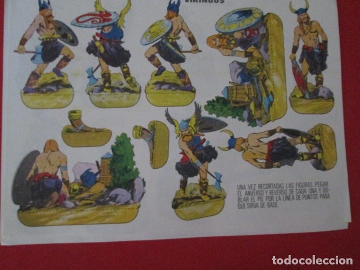 VIKINGOS (Coleccionismo - Recortables - Soldados)