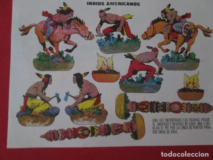 INDIOS AMERICANOS (Coleccionismo - Recortables - Soldados)