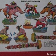 Coleccionismo Recortables: INDIOS AMERICANOS. Lote 289543478