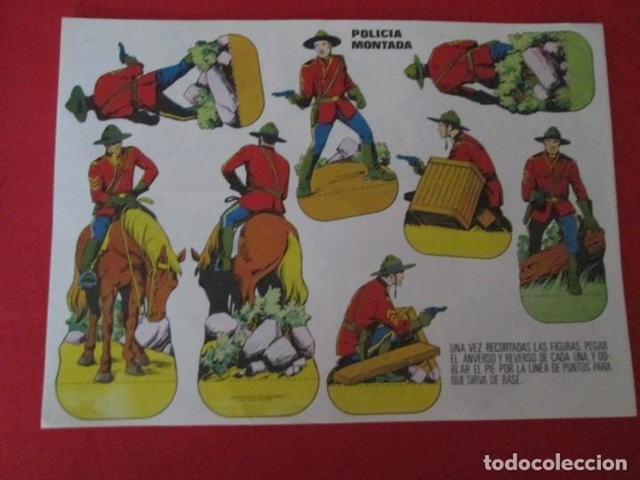 POLICIA MONTADA (Coleccionismo - Recortables - Soldados)