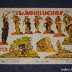 Coleccionismo Recortables: (M) RECORTABLE ORIGINAL - GUERRA CIVIL - COLUMNA LOS AGUILUCHOS, MILICIAS DEL PUEBLO - GARCIA OLIVER. Lote 290063523