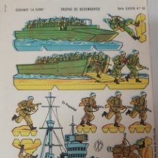 Coleccionismo Recortables: RECORTABLE ANTIGUO AÑOS 50 EDICIONES LA TIJERA. Lote 296864633