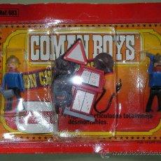 Coman Boys: ANTIGUO BLISTER COMAN BOYS DE COMANSI KIT GASOLINERA CON FIGURAS Y ACCESORIOS. Lote 23990145