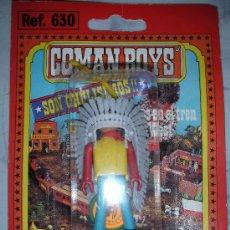 Coman Boys: ANTIGUO BLISTER COMAN BOYS DE COMANSI JEFE INDIO. Lote 32433851