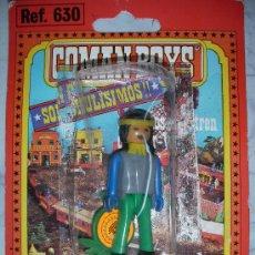 Coman Boys: ANTIGUO BLISTER COMAN BOYS DE COMANSI INDIO. Lote 32433848