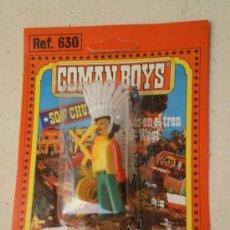 Coman Boys: FIGURA EN SU BLISTER COMAN BOYS ( COMANSI ) AÑOS 70 .. Lote 219099700