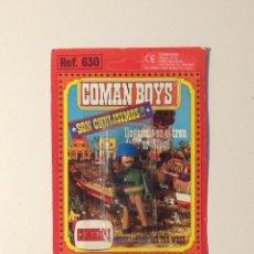 Coman Boys: COMANBOYS COMAN BOYS SOLDADO ONU. NUEVO Y SELLADO. Lote 40867112