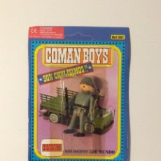 Coman Boys: COMANBOYS COMAN BOYS SOLDADO ALEMÁN. NUEVO Y SELLADO. Lote 40867118